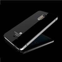 unik Aluminium Tempered Glass HardCase for Xiaomi Redm unik lucu