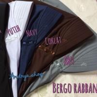 JILBAB / BERGO / KERUDUNG RABBANI size XL