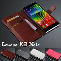 Lenovo K3 Note Flip Cover Leather Wallet Case Casing Retro