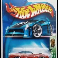 Hotwheels 71 Plymouth GTX TH Super -Metallic Red Black-