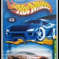 Hotwheels 2001 Pontiac Rageous TH Super -Metalflake Brown-