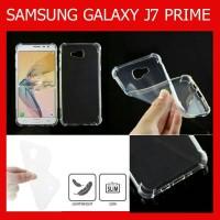 ANTI CRACK Shock Clear Soft Case Samsung Galaxy J7 Prime- Casing
