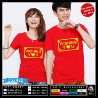Tshirt Kaos Couple Imlek Wishing You