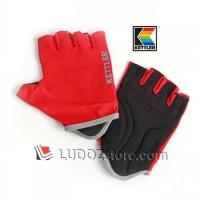 RED Multi Purpose Exercise Gloves Sarung Tangan Training Gym Kettler