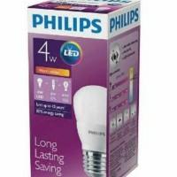 Lampu LED Philips 4 watt 4w / Philip Kuning 4 w Bulb 4watt WARM WHITE