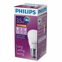 Lampu Bohlam LED Philips warm white/kuning 3.5 watt 3watt 3w 3 w Bulb