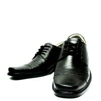 sepatu pantofel fantofel vantofel kulit sapi asli hitam