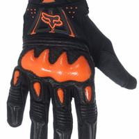 HARGA PROMO Glove / sarung tangan motor FOX BOMBER ( IMPORT )