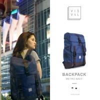 Tas Ransel Backpack Visval Metro Gendong Punggung Lapto Diskon
