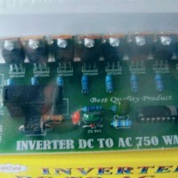 KIT INVERTER DC TO AC 750WATT