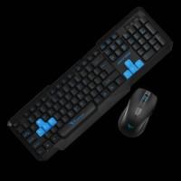 Keyboard + Mouse Alcatroz Xplorer 5500 USB By Powerlogic