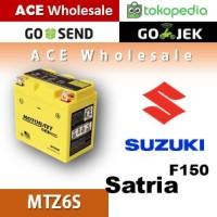 Aki kering gel Satria F150 Suzuki MOTOBATT MTZ6S accu motor / GS Yuasa