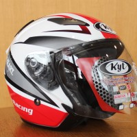 Honda Racing Helm Half face (KYT)