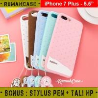 iPhone 7 PLUS - Case Casing Fabitoo Cute Softcase Lucu Silicone Karet
