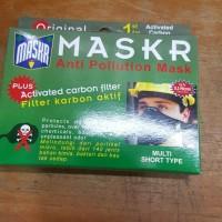 Masker Motor MASKR Carbon Pendek Multi