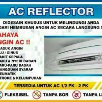 Acrylic AC / Talang AC / Penahan angin ac 80cm