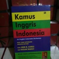 Kamus Bahasa Inggris - Indonesia (John M. Echolss) Edisi Terbaru