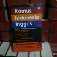 Kamus Bahasa Indonesia Inggris (John M. Echols) Edisi Terbaru