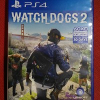 kaset game bd ps4 ps 4 watch dogs 2 wd watchdogs 2nd bekas