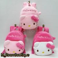 Import Tas Ransel Anak Boneka Hello Kitty 22cm