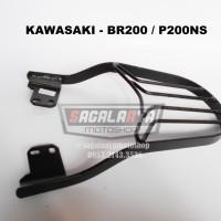 Bracket Box Motor Monorack Bajaj pulsar P200ns / Kawasaki BR200