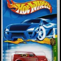 Hotwheels 2002 Anglia Panel Truck TH Super -Metallic Red-