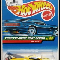 Hotwheels 2000 Tow Jam TH Super -Yellow-