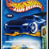 Hotwheels 2003 Riley & Scott MK III TH Super -Metalflake Gold-
