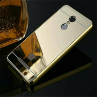 Bumper Mirror Case Xiaomi Redmi Note 3 /Hardcase/Slide/Hard/Casing
