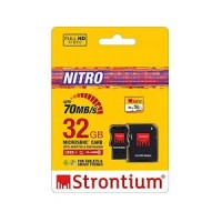 Strontium MicroSD UHS-1 466X 32GB With Adapter&Card Reader