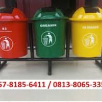 Tong Sampah Fiber / Bak Sampah Fiber / Tempat Sampah B3