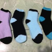 Kaos Kaki Wool Polos Unisex Musim Dingin /Winter Socks Thermal