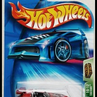 Hotwheels 2004 Tantrum TH Super -Metallic Dark Red-