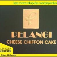 chiffon cake kafe pelangi semarang