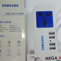 Samsung Dekstop Charger Socket & 4 Port Usb ( 2A &4A )