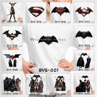 Kaos / Baju Anak Laki Laki Batman Vs Superman - 13 Motif/Design