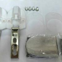 Engsel Sendok Kaca D lurus merk lama