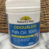 Odourless Fish Oil 1000mg Natures Way