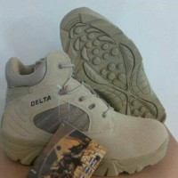 sepatu delta tactical 6in tan Diskon