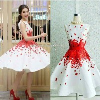 dress xincia white