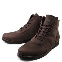 Sauqi Brodo Sepatu Pria Sepatu Boots Kulit Asli Murah Keren Original