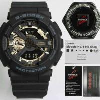 Jam Tangan Pria Wanita Sporty G Shock GA110RG Original BM Black RG