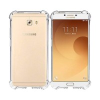 Samsung C9 Pro Silicone Case Anti Shock Anti Crack
