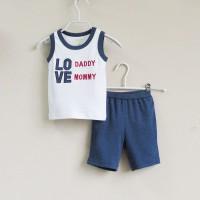 Baju Anak  - Love Set (MB-026D)