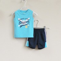 Baju Anak - Mom and Bab Blue Navy (MB-027A)