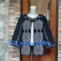 blezer tenun kimono tenun dress tenun Troso Jepara outerwear tenun