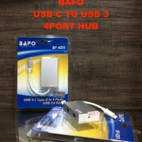 charger kabel adapter BAFO USB-C TO USB 3 4 PORT HUB