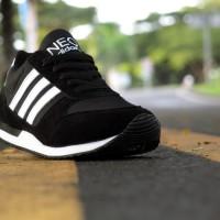 Sepatu Sport Terbaru Sepatu Adidas Original Neo City Racer Hitam Putih