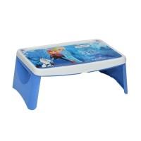Meja Lipat Lap Desk Belajar Anak Frozen Biru Napolly Tempat Pensil