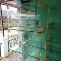 Aquarium kaca ukuran 80 x 40 x 50 cm